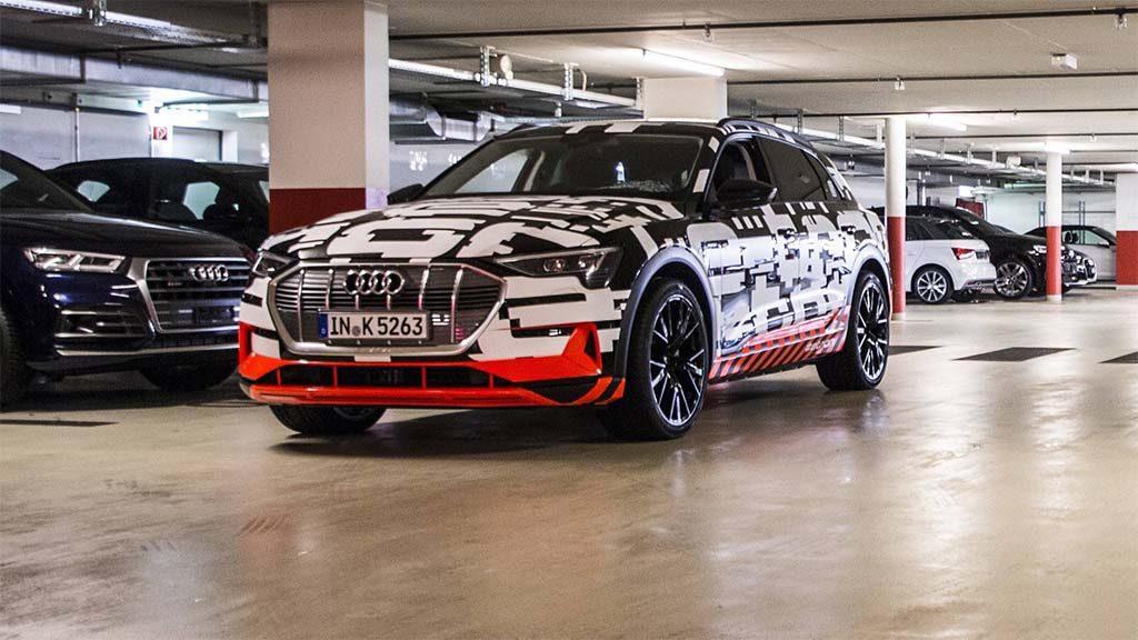 Audi debutar con la nueva e tron totalmente el ctrica el for Garage total ozoir la ferriere